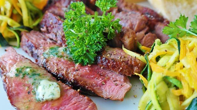 friptură carne carne de vita mancare