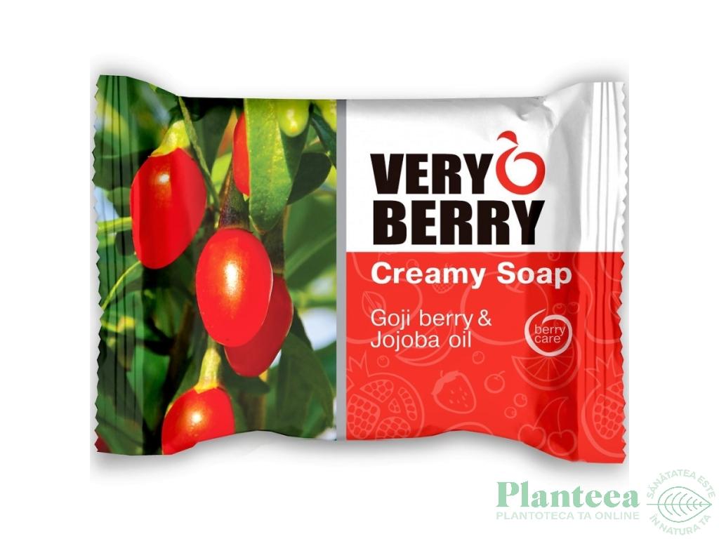 Sapun cremos goji ulei jojoba Very Berry 100g - ELFA PHARM