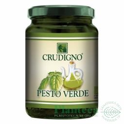 Pesto verde busuioc 130g - CRUDIGNO