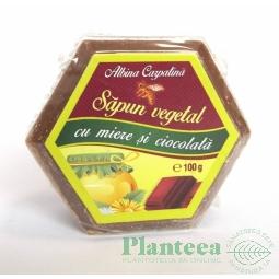Sapun miere ciocolata 100g - ALBINA CARPATINA