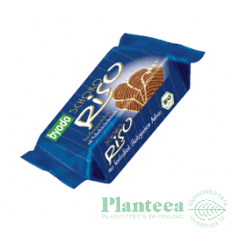 Biscuiti orez expandat ciocolata lapte 40g - BYODO