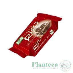 Biscuiti orez expandat ciocolata amaruie 40g - BYODO