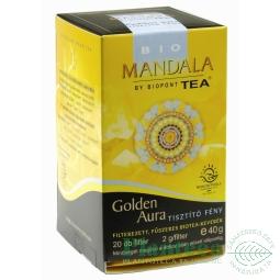 Ceai plante Golden Aura 20dz - MANDALA