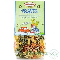 Paste masinute tricolore grau Travel 250g - DALLA COSTA