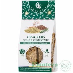 Crackers vegani susan condimente 125g - HIPER AMBROZIA