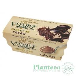 Desert crema orez cacao 2x100g - VITARIZ