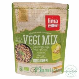 Vegi Mix orez salbatic soia ghimbir bio 250g - LIMA