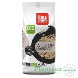 Orez mix brun salbatic 500g - LIMA