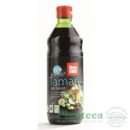 Sos soia tamari continut redus sare bio 250ml - LIMA