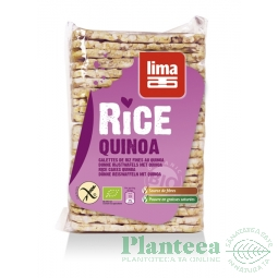 Tartine expandate orez quinoa 130g - LIMA