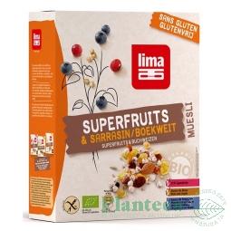 Musli superfructe hrisca fara gluten bio 250g - LIMA