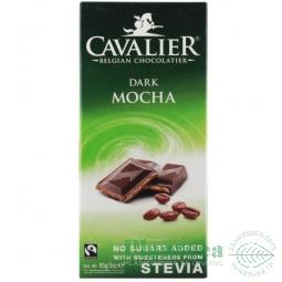 Ciocolata neagra 55% crema cafea 85g - CAVALIER