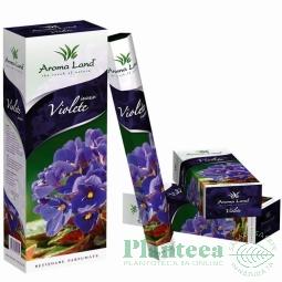 Betisoare parfumate violete 20b - AROMA LAND