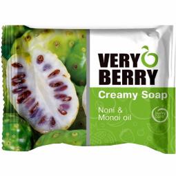 Sapun cremos noni ulei monoi Very Berry 100g - ELFA PHARM