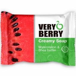 Sapun cremos pepene unt shea Very Berry 100g - ELFA PHARM