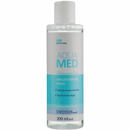 Apa micelara hidratanta acid hialuronic apa termala AquaMed 200ml - ELFA PHARM