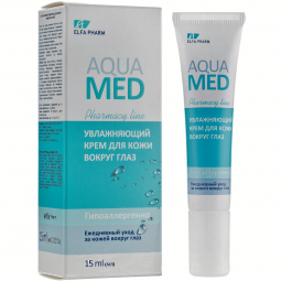 Crema contur ochi hidratanta acid hialuronic apa termala AquaMed 15ml - ELFA PHARM