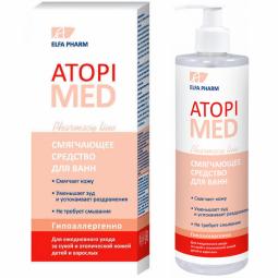 Balsam emolient baie piele atopica AtopiMed 400ml - ELFA PHARM