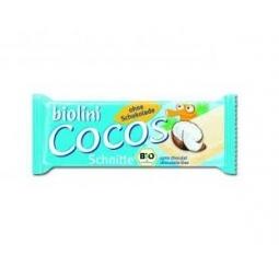 Baton cocos fara ciocolata 35g - BIOLINI