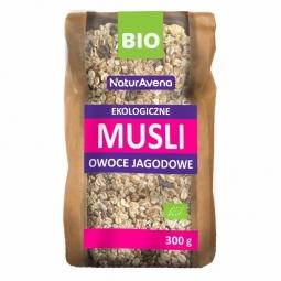 Musli fructe padure eco 300g - NATUR AVENA