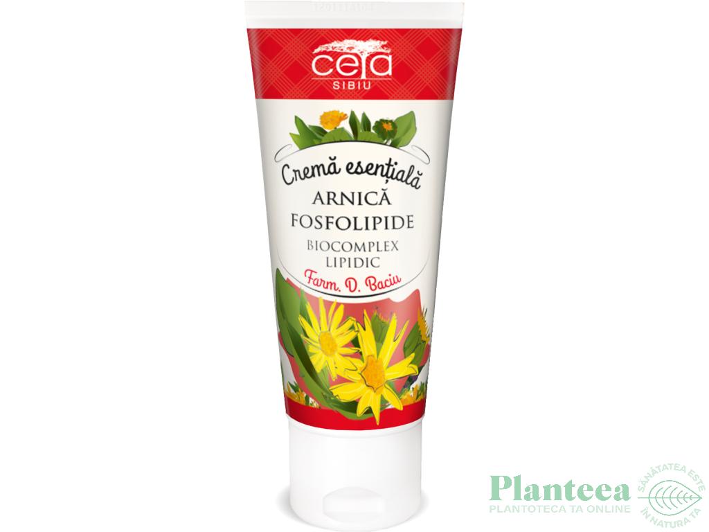 Crema esentiala arnica fosfolipide 50ml - CETA SIBIU