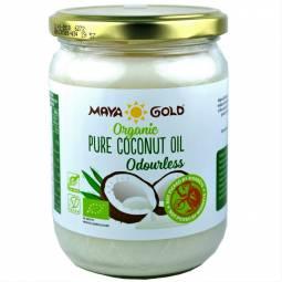 Ulei cocos dezodorizat bio 450g/500ml - MAYA GOLD