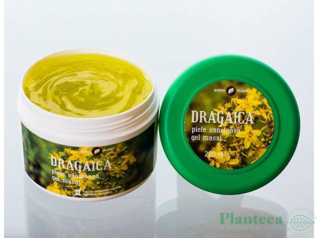Gel masaj dragaica 200ml - GORDI PLANT