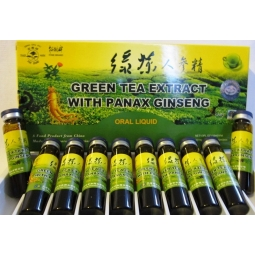 Ceai verde panax ginseng 10fl - PINE BRAND