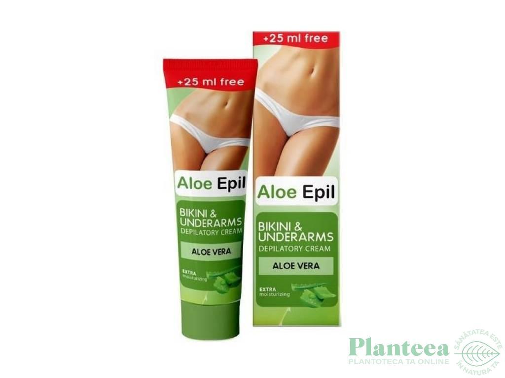 Crema depilatoare aloe vera 125ml - ELFA PHARM