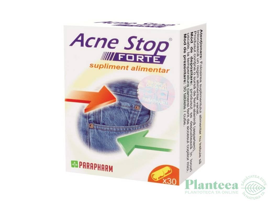 Pachet Acne stop forte 2x30cps - PARAPHARM