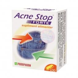 Pachet Acne stop forte {1+1} 30cps - PARAPHARM