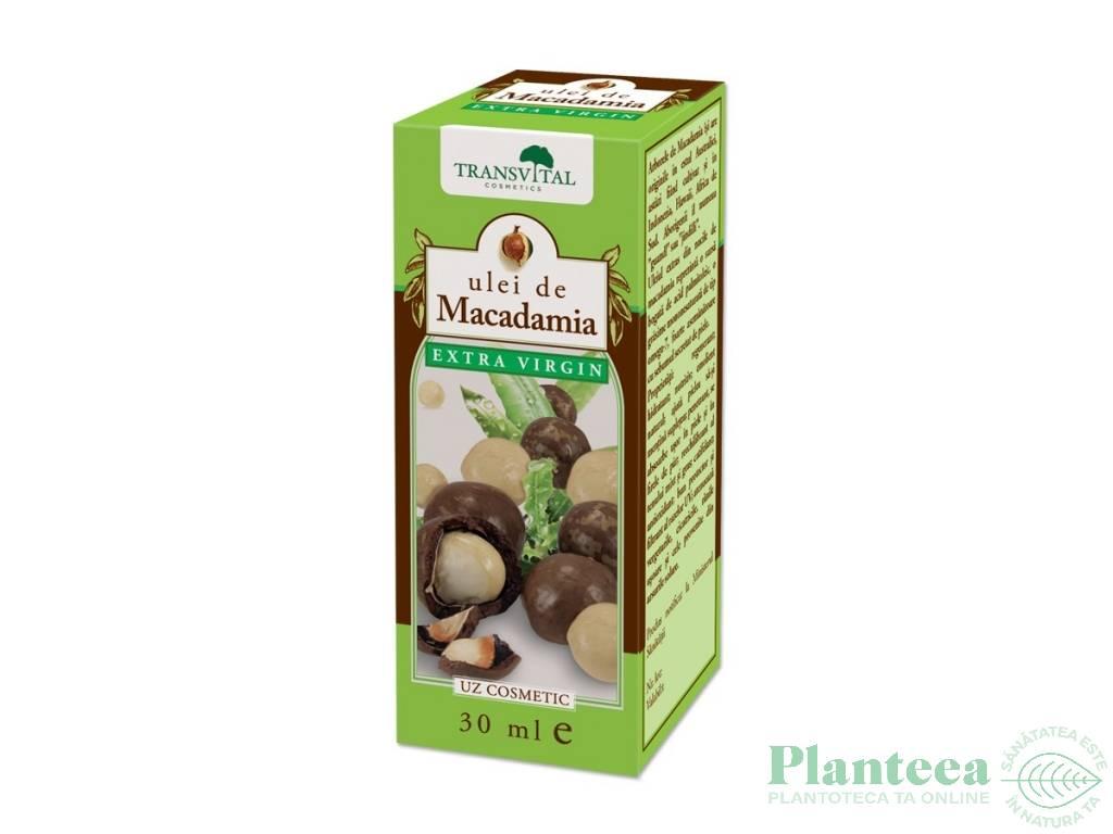 Ulei macadamia cosmetic 30ml - TRANSVITAL