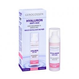 Masca fata revitalizanta argila roz Hyaluron 30ml - GEROCOSSEN