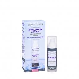 Masca fata purificatoare carbune Hyaluron 30ml - GEROCOSSEN