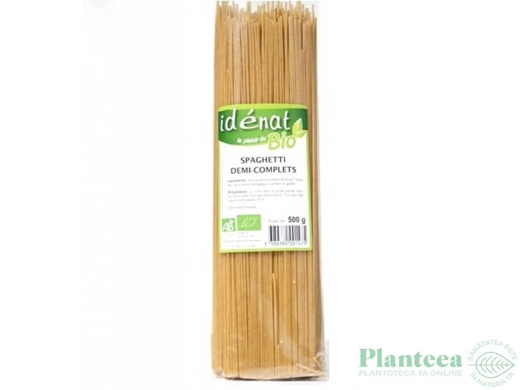 Paste spaghete grau semiintegral 500g - IDENAT