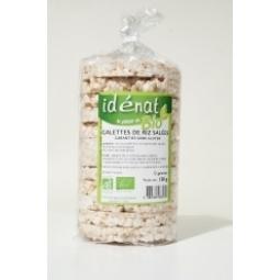 Rondele expandate orez cu sare 130g - IDENAT