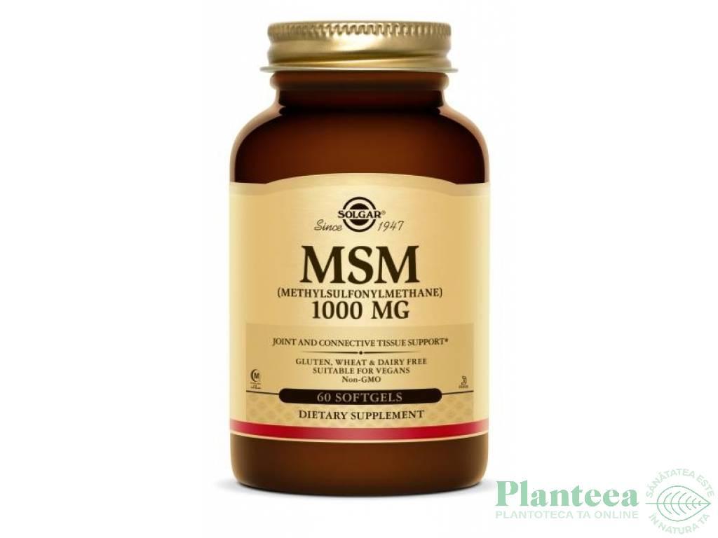 MSM 1000mg 60cp - SOLGAR