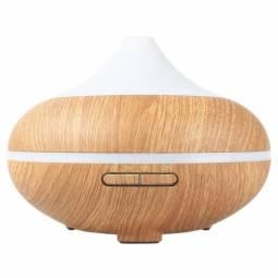 Difuzor ultrasonic aromaterapie multicolor lemn deschis 500ml - MISTMATIQUE