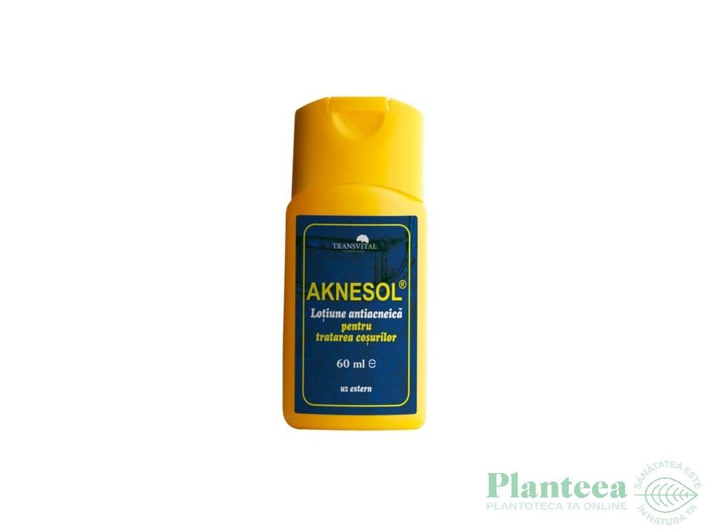 Lotiune antiacnee Aknesol 60ml - TRANSVITAL