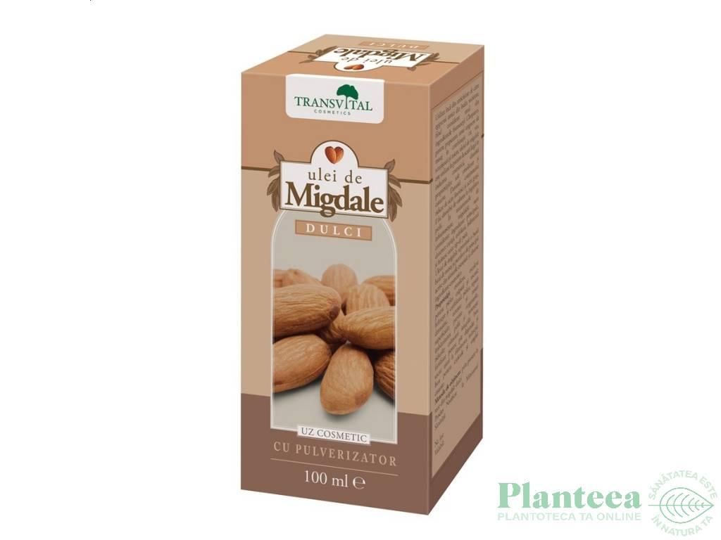 Ulei migdale dulci cosmetic spray 100ml - TRANSVITAL