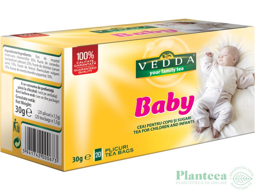 Ceai baby 20dz - VEDDA KALPO