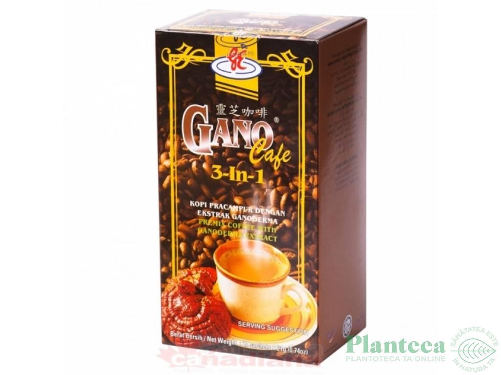 Cafea gano 3in1 cutie 20pl - GANO EXCEL