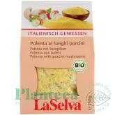 Polenta ciuperci porcini 250g - LA SELVA