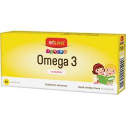 Omega3 junior 30cps - BIOLAND