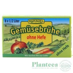 Cubulete supa legume fara drojdie 8x10,5g - RAPUNZEL