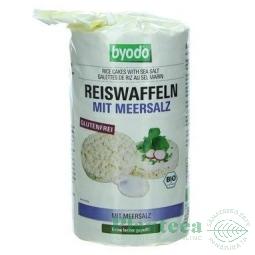 Rondele expandate orez cu sare 100g - BYODO