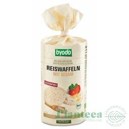 Rondele expandate orez susan cu sare 100g - BYODO