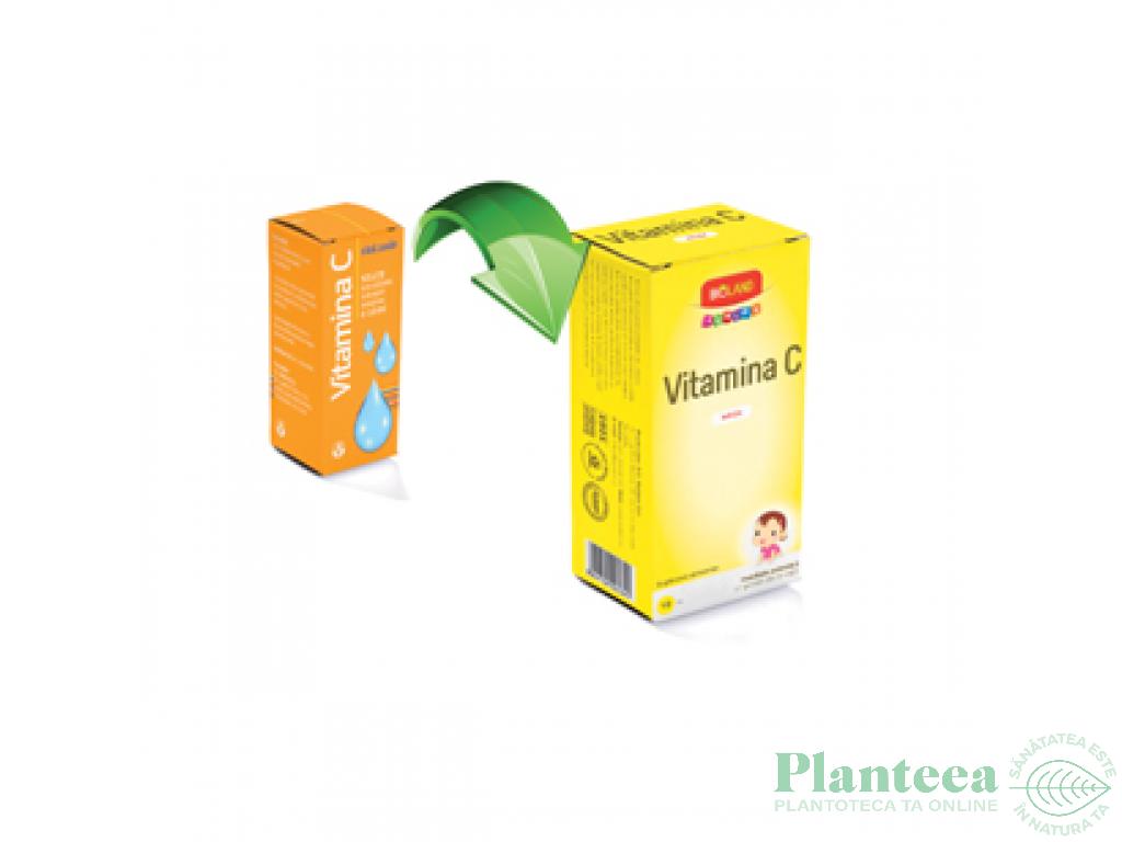 Vitamina C solutie junior 10ml - BIOLAND