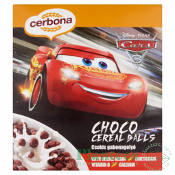 Bilute cereale ciocolata Disney Cars 225g - CERBONA