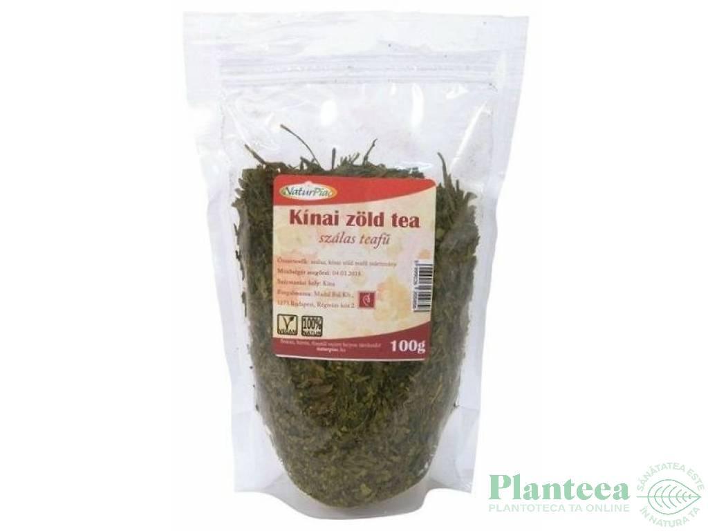 Ceai verde chinezesc punga 100g - NATURPIAC